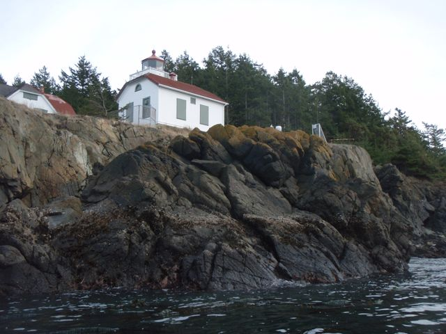Burrows Island Light Station.