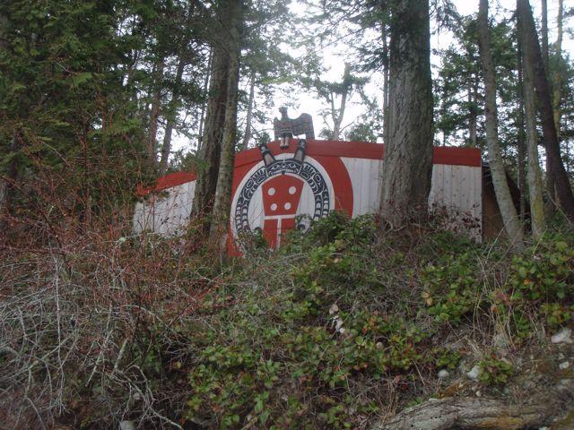 Mysterious longhouse