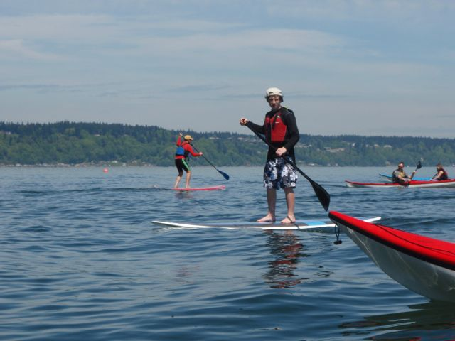 Stand-Up Paddleboards are the fastest growing paddlesport today.