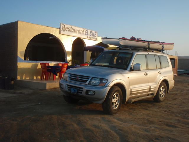 One of the restaurants in the National Reserve at Paracas.