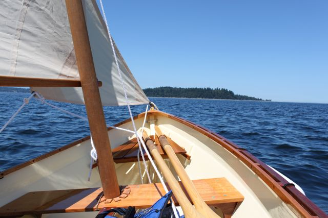 Small Sailboat Camping - The Dash Point Pirate