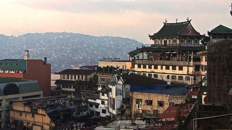 00191 Baguio view, Temple