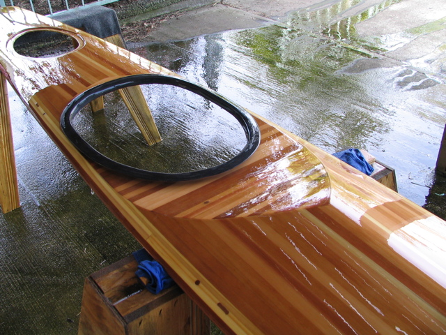 Building kayak strip
