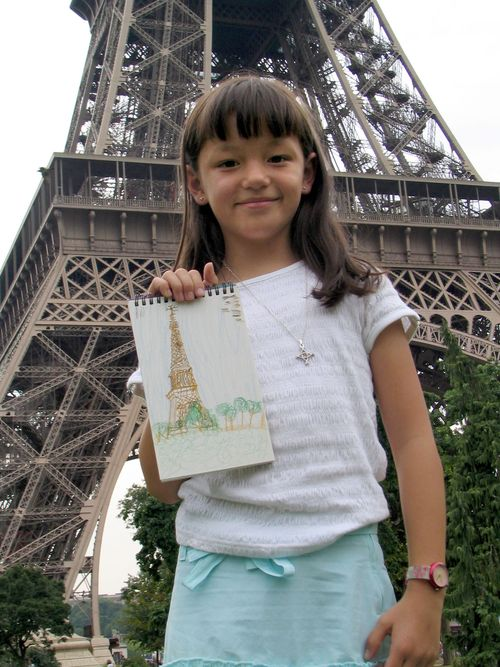 Phoebe Elizaga, photographed for the Rick Steves Family Europe Photo Contest