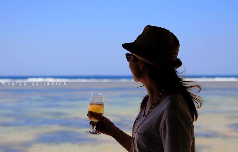 Viktoria at Puerto Del Sol Resort, Bolinao. Copyright Katya Palladina.